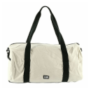 Loungefly Disney Mickey Mouse Taupe Embroidered Duffle Bag
