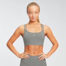 MP Women's Essentials Jersey Bra - Grey Marl - XS