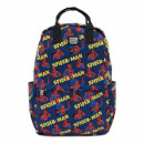 Loungefly Marvel Spider-Man Aop Square Nylon Backpack