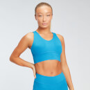 MP Women's Power Longline Sports Bra - Sea Blue - XS