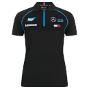 Black Replica Team Polo Shirt - Women's