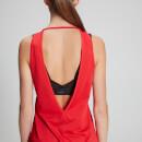 MP dámské tričko bez rukávů Power Ultra – Červené
