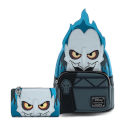 Loungefly Disney Villains Hades Cosplay Mini Backpack and Wallet Set