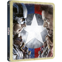 The First Avenger: Civil War - Zavvi UK Exklusives Limited Edition Steelbook