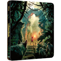 The Jungle Book (Live Action) - Zavvi UK Exklusives Limited Edition Steelbook