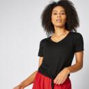 T-Shirt Twist manches courtes - noir