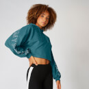 Myprotein Icon Cropped Hoodie - Teal