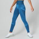 MP Women's Impact Seamless Leggings - Ibiza Blue - XS