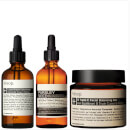Image of Aesop Lucent Concentrate, Triple C Balancing Gel and Parsley Seed Serum Bundle %EAN%