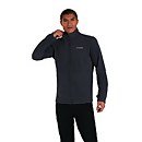Men's Prism Micro Polartec Interactive Fleece Jacket - Dark Grey - XS