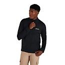 Men's Pravitale Mountain 2.0 Fleece Jacket - Dark Grey/ Black - XS