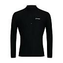 Men's 24/7 Long Sleeve Zip Base Layer - Black - XS