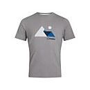 Men's Mountain Valley T-Shirt - Dark Grey - XS