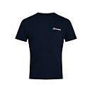Men's Organic Classic Logo T-Shirt - Blue - XS