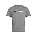 Men's Organic Big Classic Logo T-Shirt - Dark Grey - XS