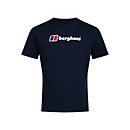 Men's Organic Big Classic Logo T-Shirt - Blue - XS