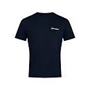 Men's Organic F&B Logo T-Shirt - Blue - XS