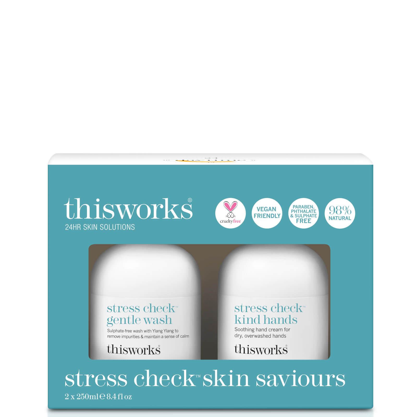 Look Fantastic coupon: this works Stress Check Skin Saviours Kit