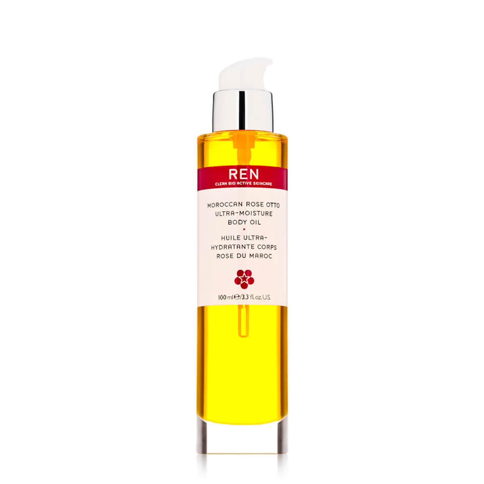 REN Clean Skincare Moroccan Rose Otto Ultra-Moisture Body Oil 100ml