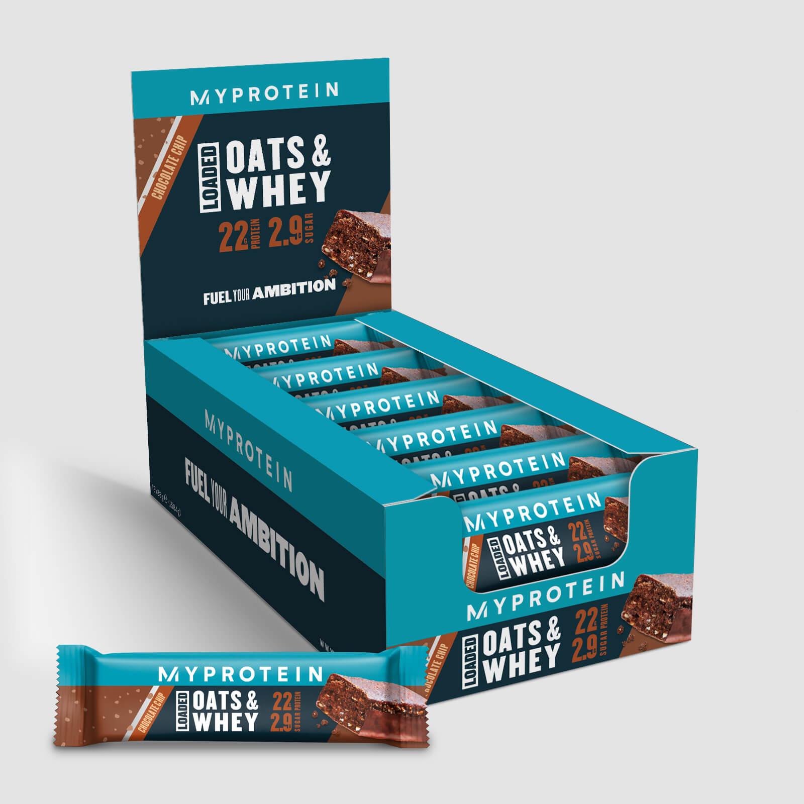 Купить Протеиновые батончики Oats & Whey - Шоколадная крошка