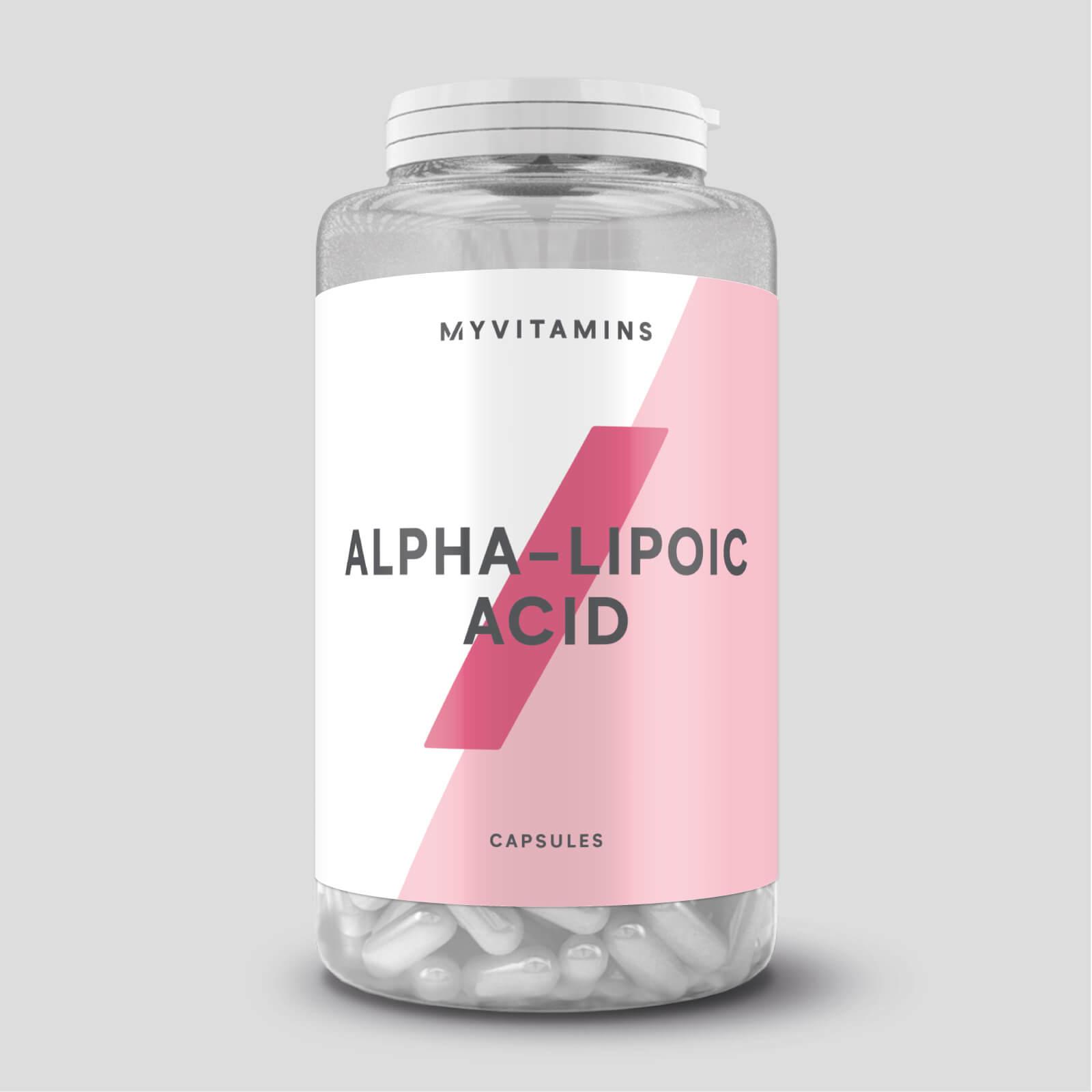 Acide Thioctique ou AAL (alpha-lipoïque) en gélules - 120Gélules