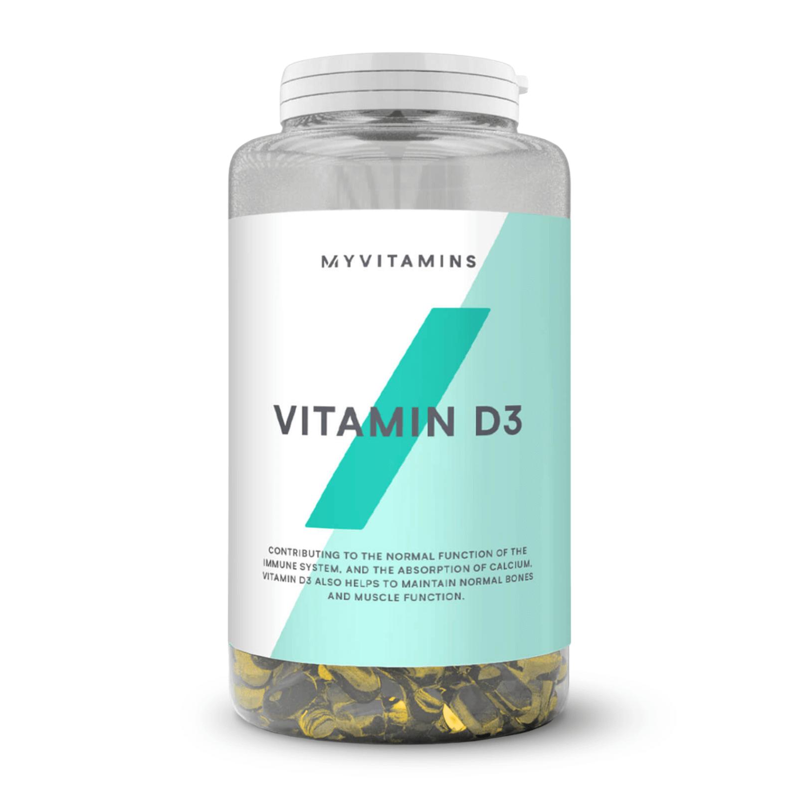 Vitamine D3 en gélules - 180Gélules