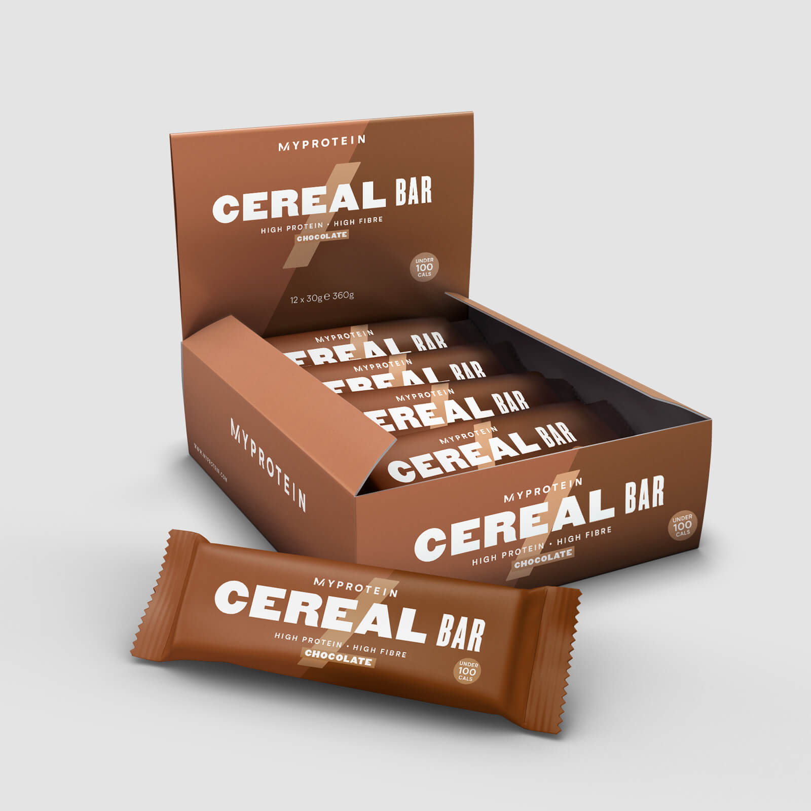 Myprotein Cereal Bar - 12 x 30g - Double Chocolate