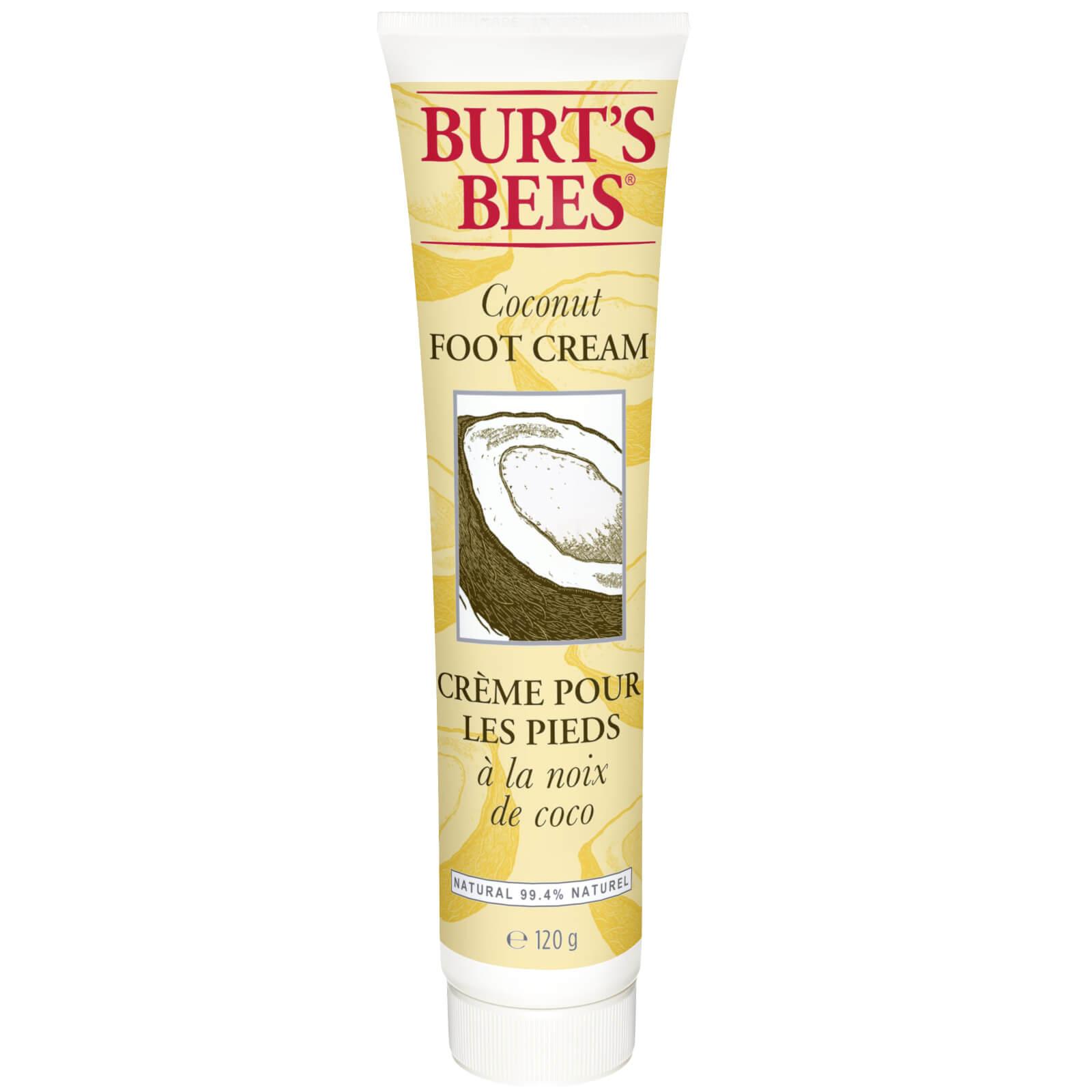 Купить Burt's Bees Кокосовый крем для ног 120 г
