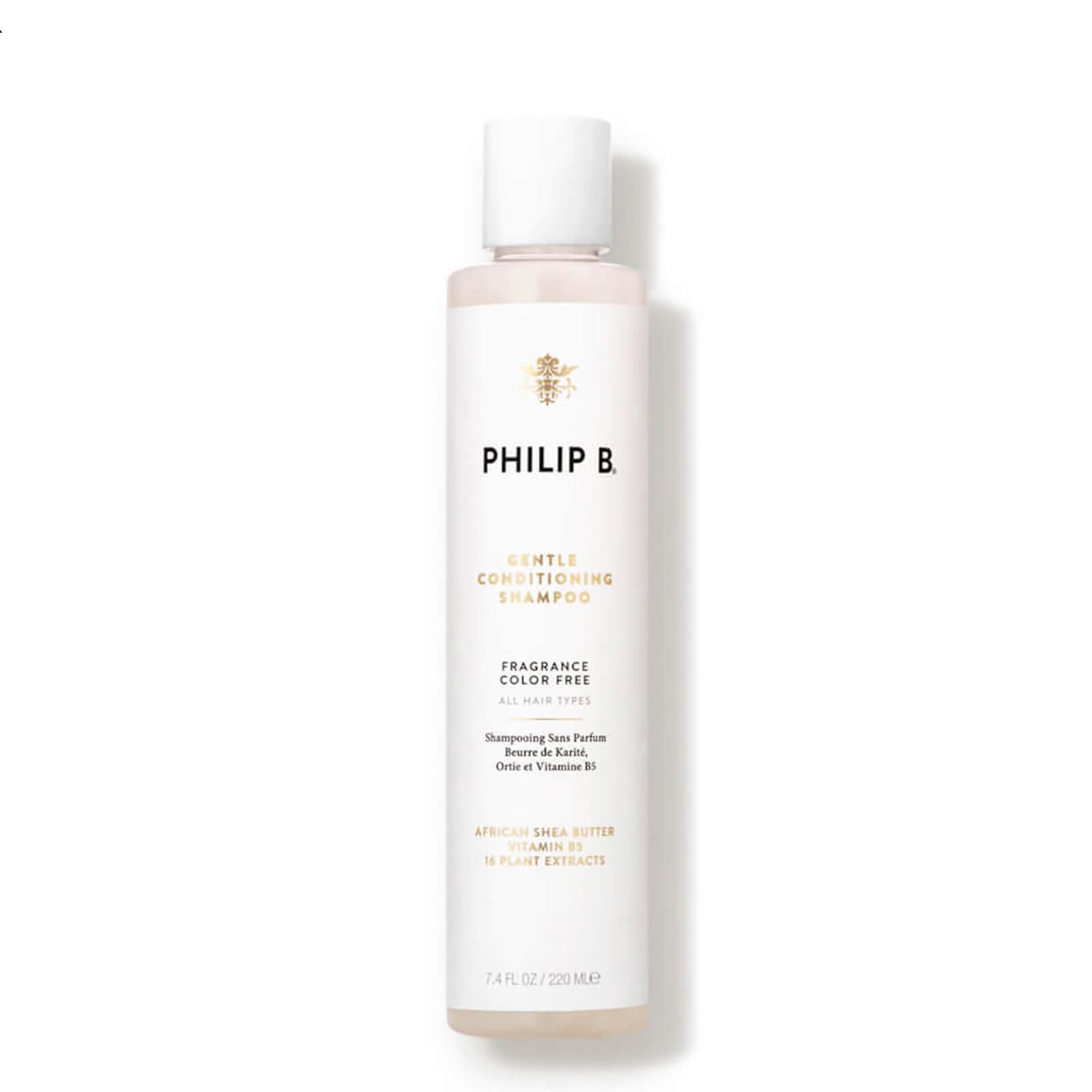 Купить Нежный шампунь-кондиционер с маслом африканского дерева ши Philip B African Shea Butter Gentle and Conditioning Shampoo (220мл)