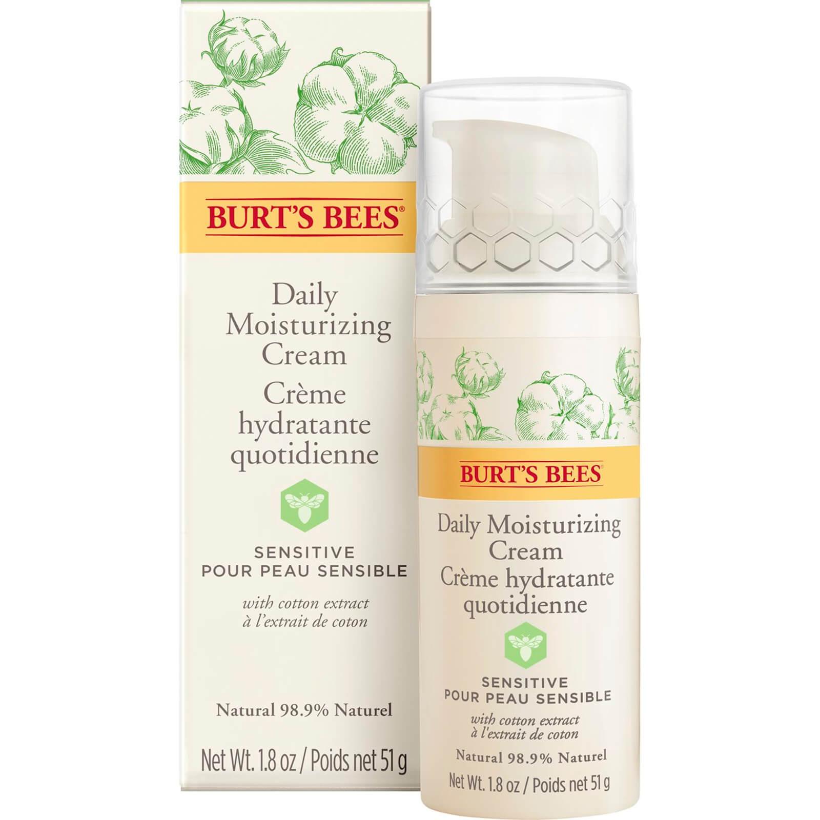 Burt's Bees Sensitive Daily Moisturising Cream 50g