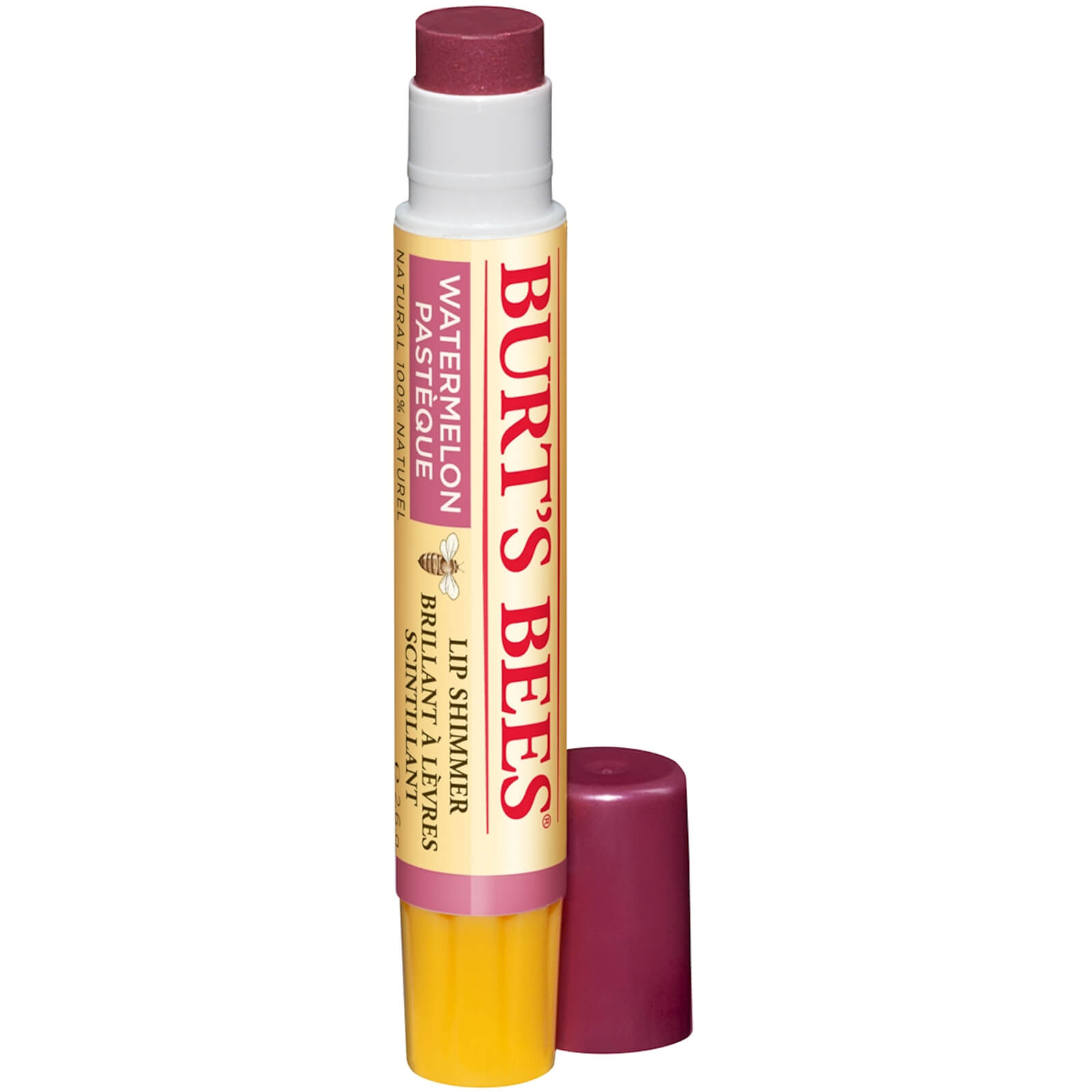 Burt's Bees Lip Shimmer 2.6g (Various Shades) - Watermelon