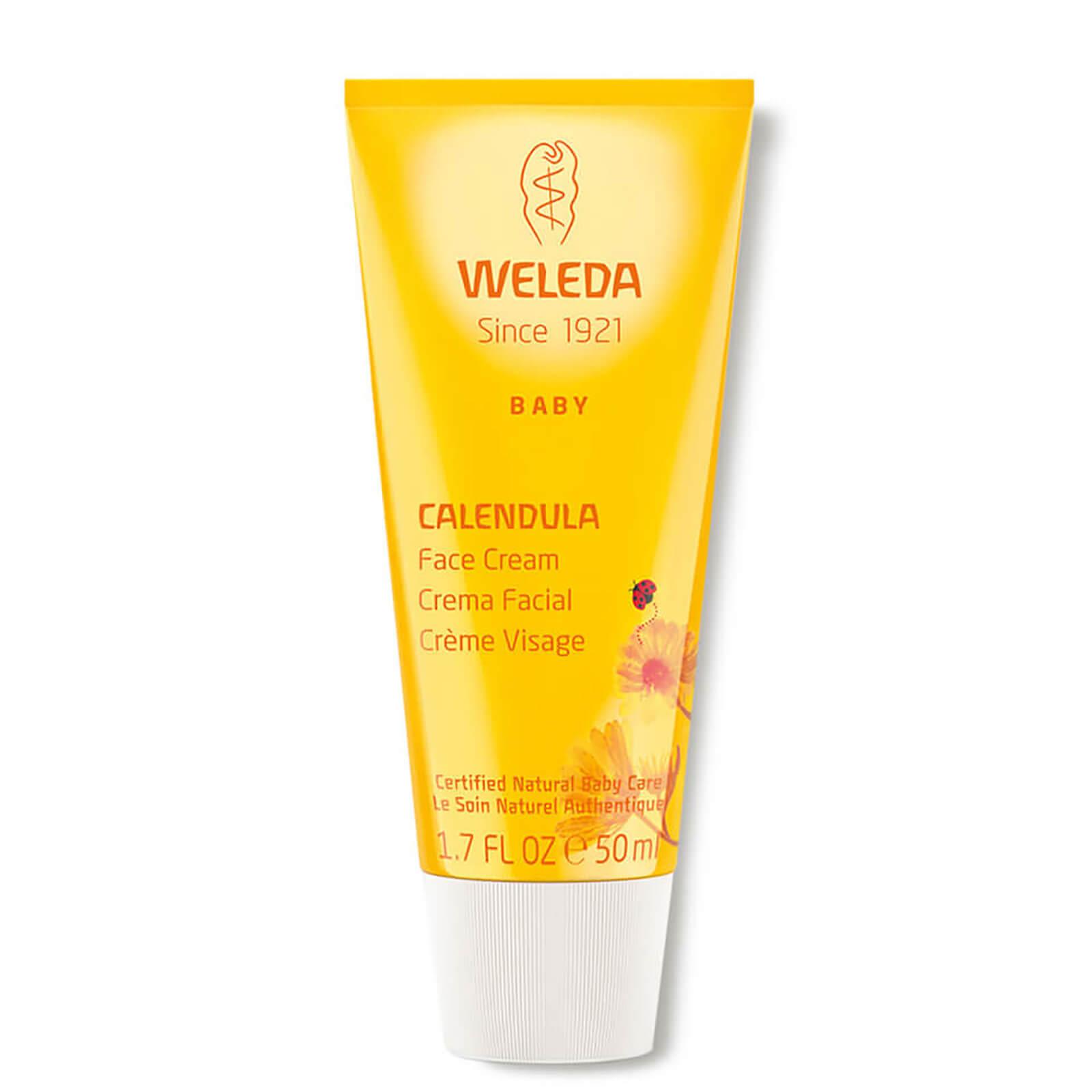 Купить Детский крем для лица с календулой Weleda Baby Calendula Facial Cream (50мл)