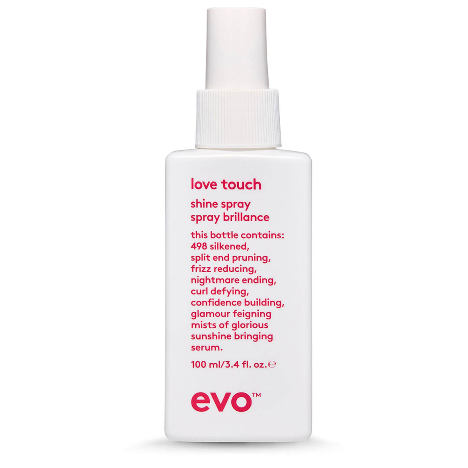 Купить Спрей для блеска волос evo Love Touch Shine Spray (100 мл)