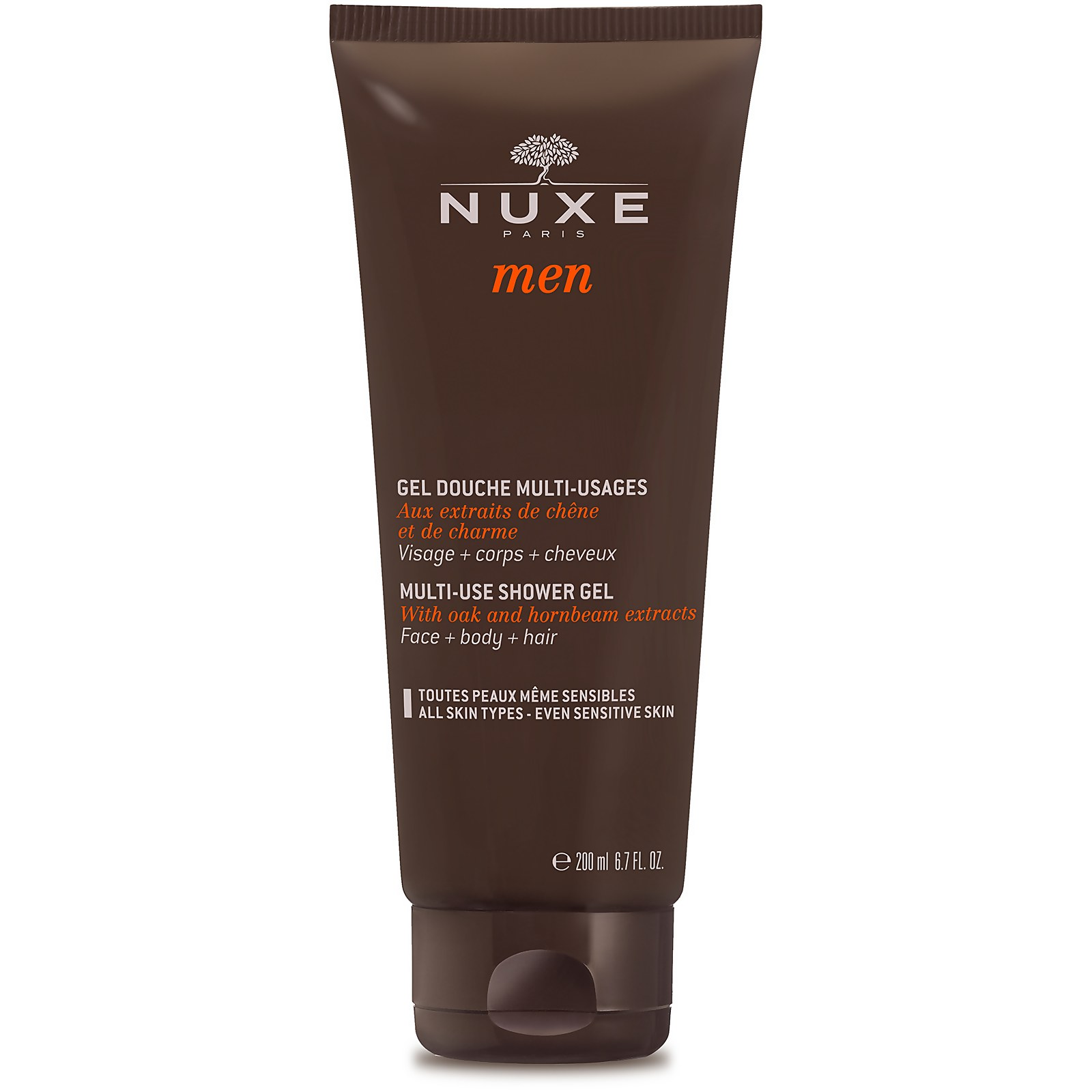 NUXE Men Multi-Use Shower Gel 200Ml