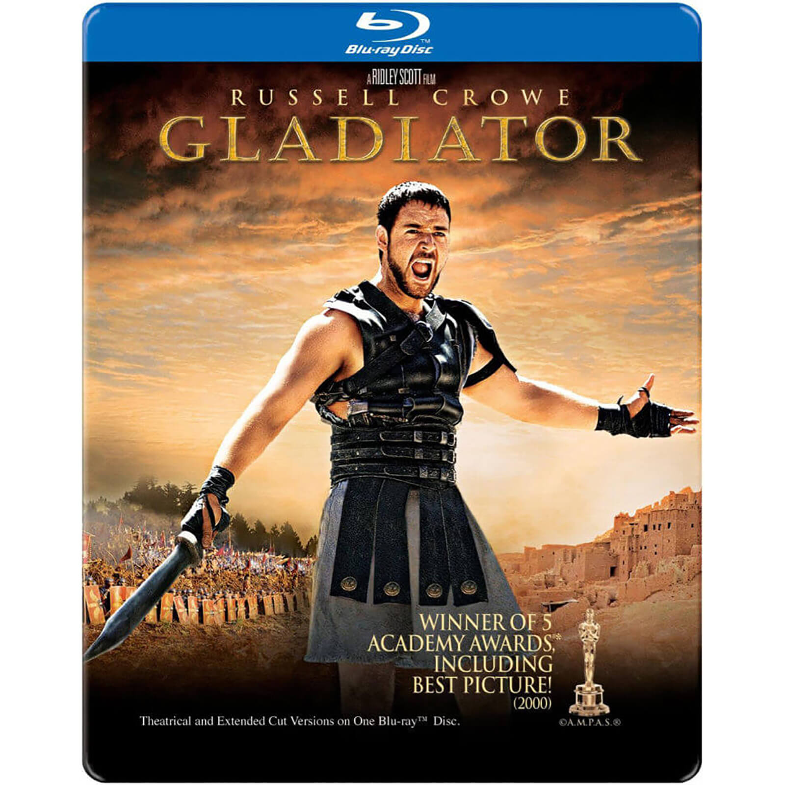 Gladiator - Import - Limited Edition Steelbook (Region 1)