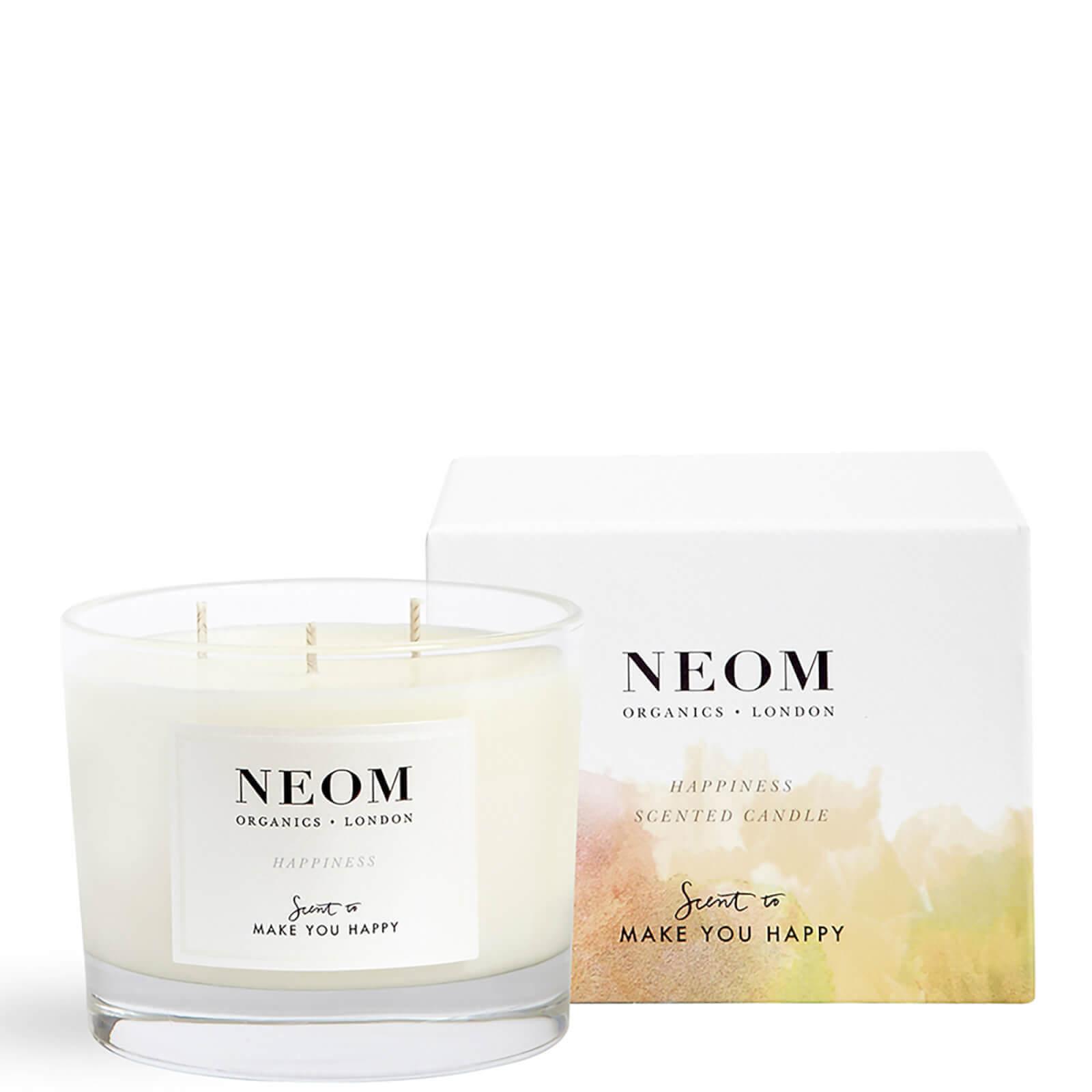 Купить Ароматическая свеча с тремя фитилями «Радость»NEOM Happiness Scented 3 Wick Candle