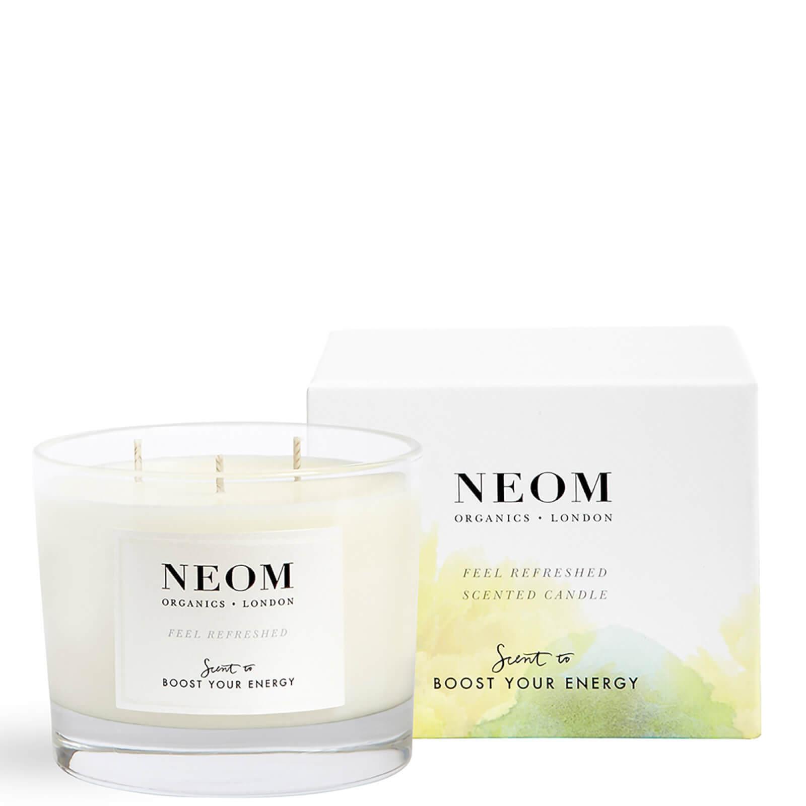 Купить Ароматическая свеча с тремя фитилями «Глоток свежести»NEOM Feel Refreshed Scented 3 Wick Candle