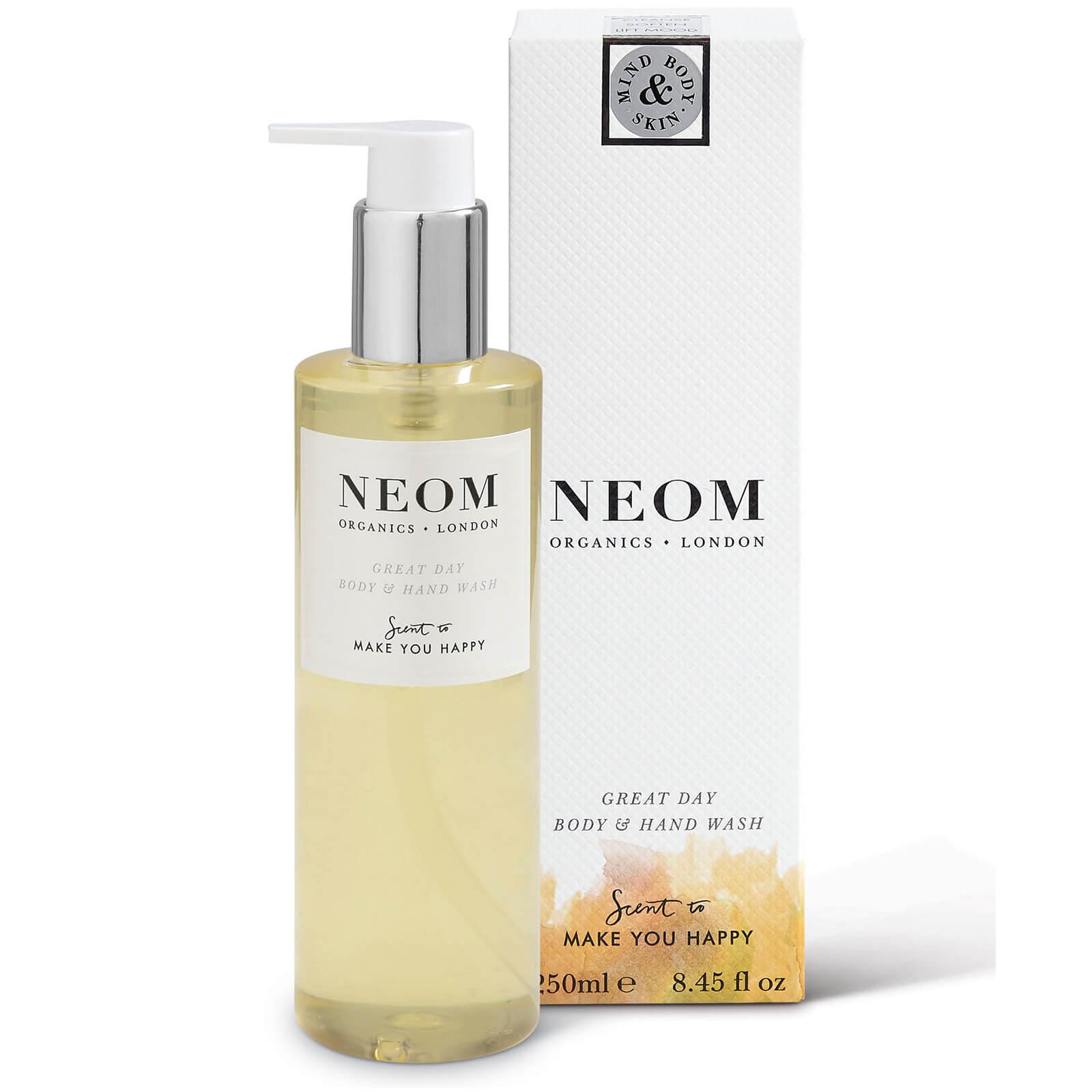 Купить Органическое жидкое мыло для тела и рук «Добрый день»NEOM Organics Great Day Body and Hand Wash (250мл)
