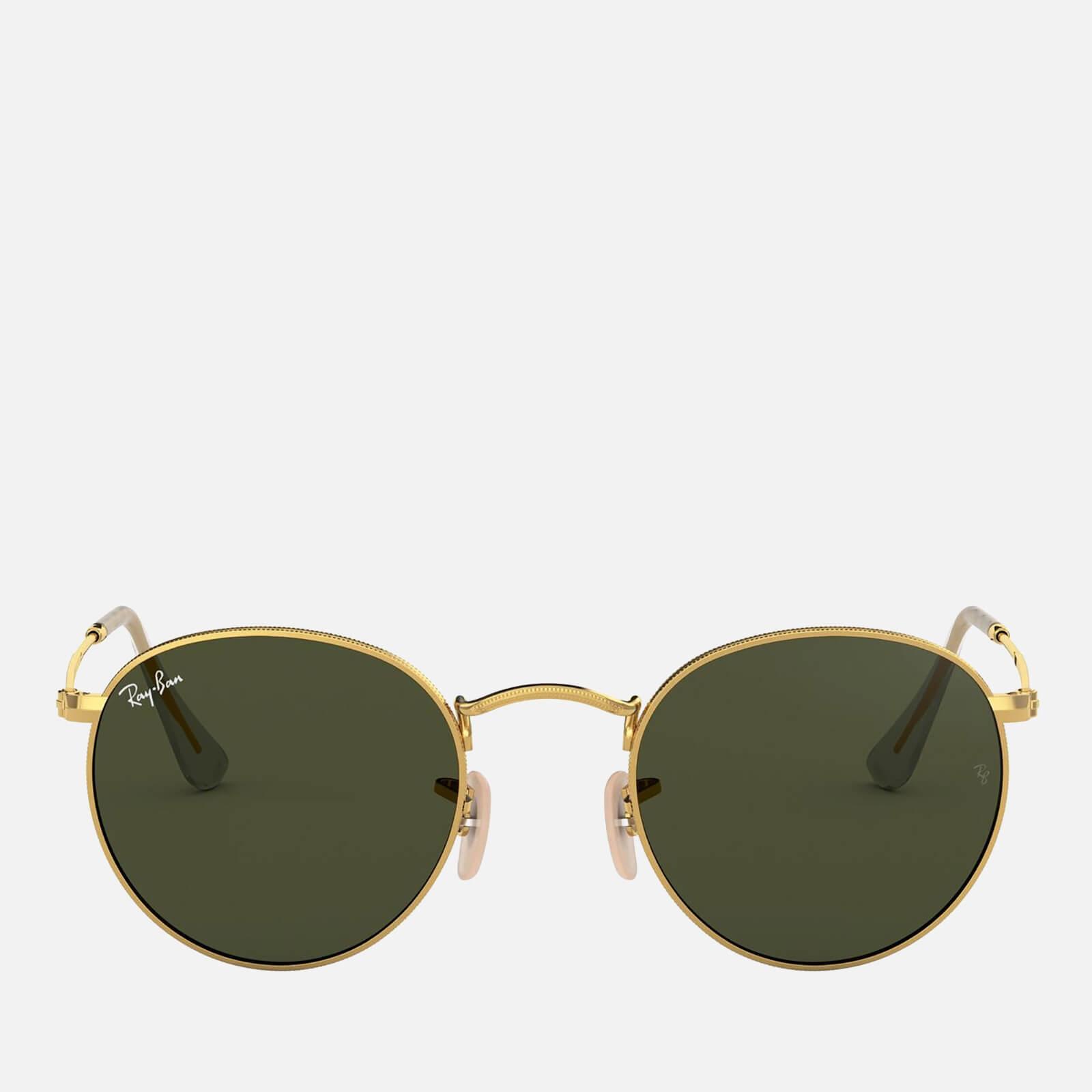 Ray-Ban Women's Round Metal Sunglasses - Gold