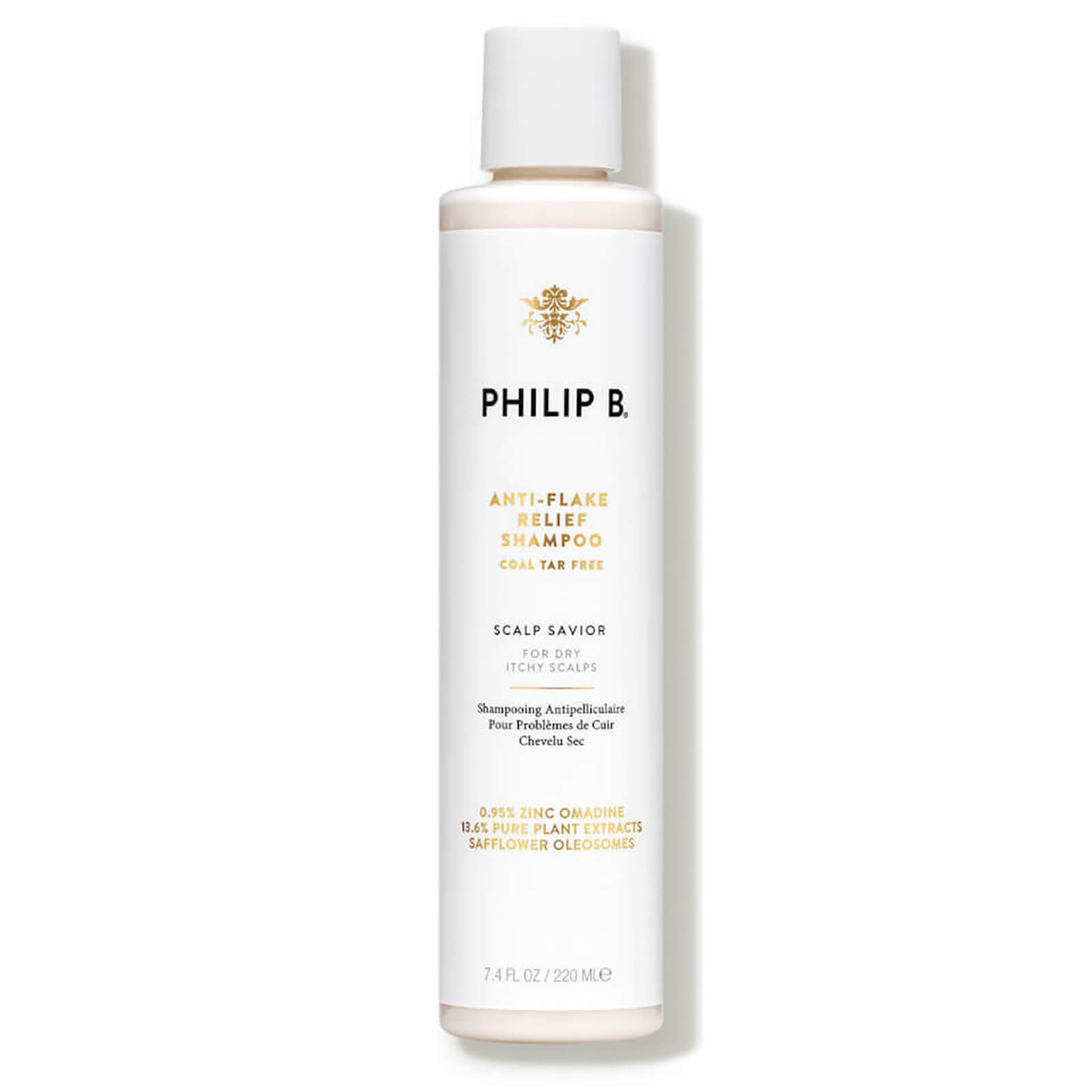 Watch a story about PHILIP B ANTI-FLAKE RELIEF SHAMPOO (220ML)