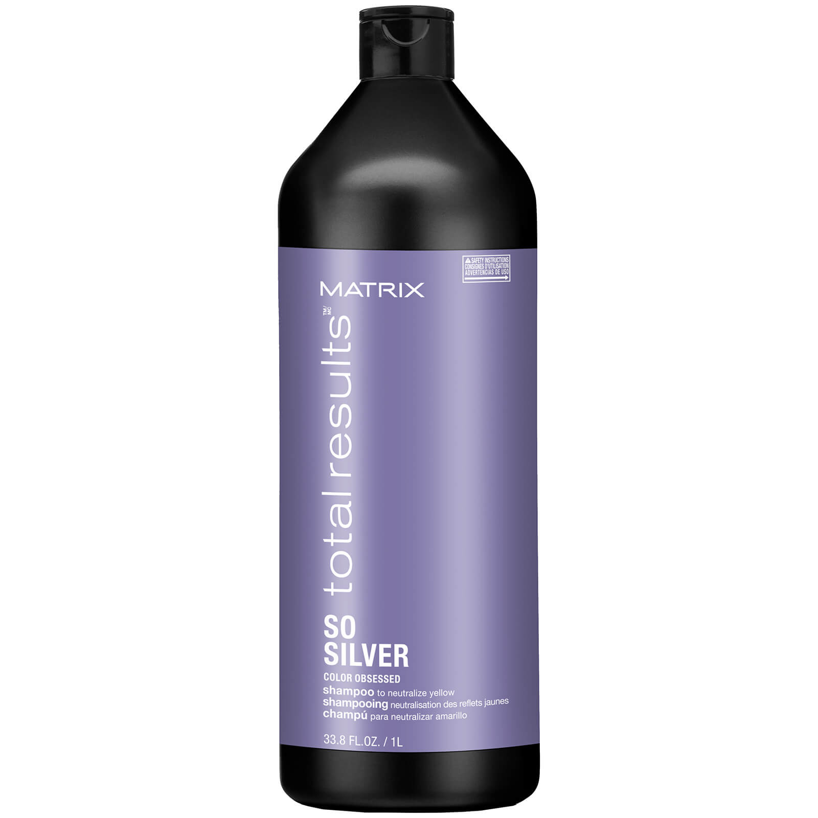 Matrix Total Results Colour Obsessed So Silver Shampoo (1000ml)