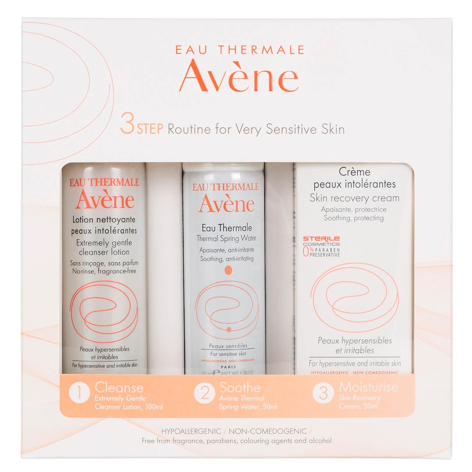 Avène Sensitive Skin Routine Kit for Very Sensitive Skin