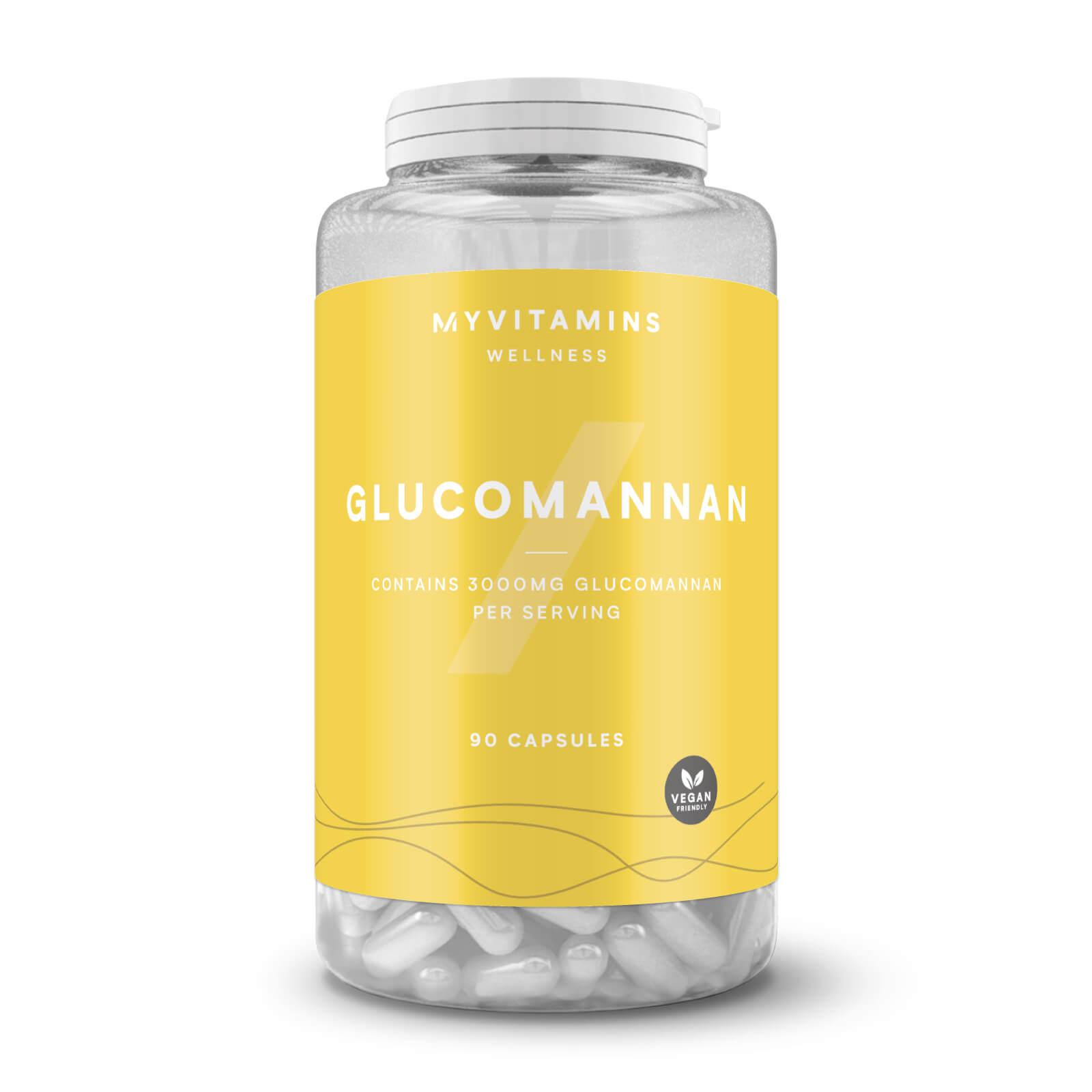 Glucomannane - 90Gélules - Sans arôme ajouté