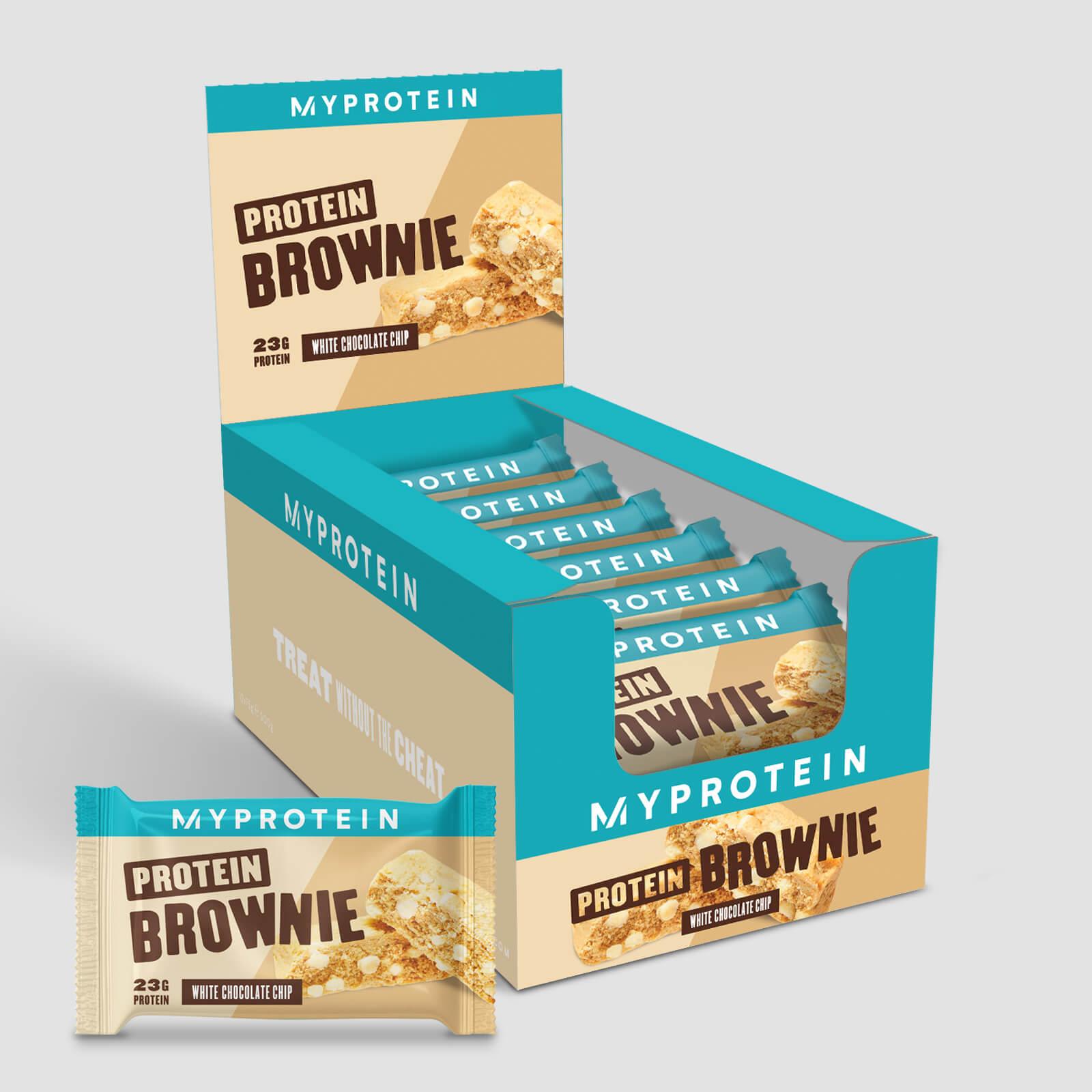 Brownie Protéiné - Chocolat blanc