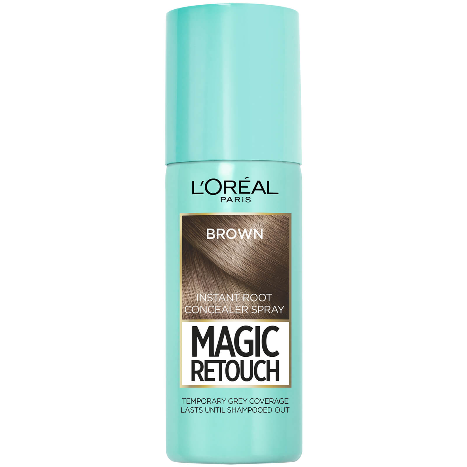 L'Oréal Paris Magic Retouch Temporary Instant Root Concealer Spray 75ml (Various Shades) - Brown