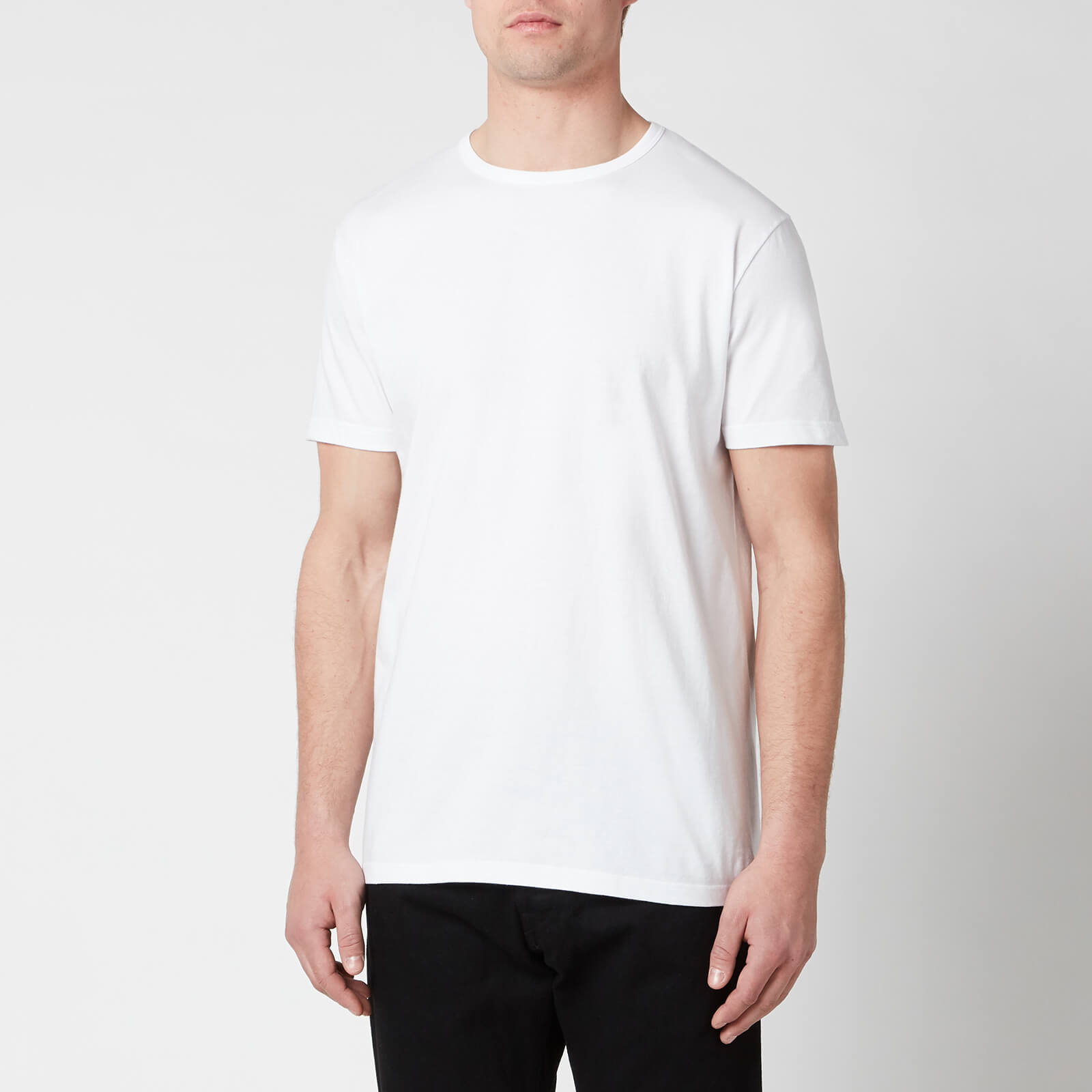 Edwin Men's Double Pack Short Sleeve T-Shirt - White - L