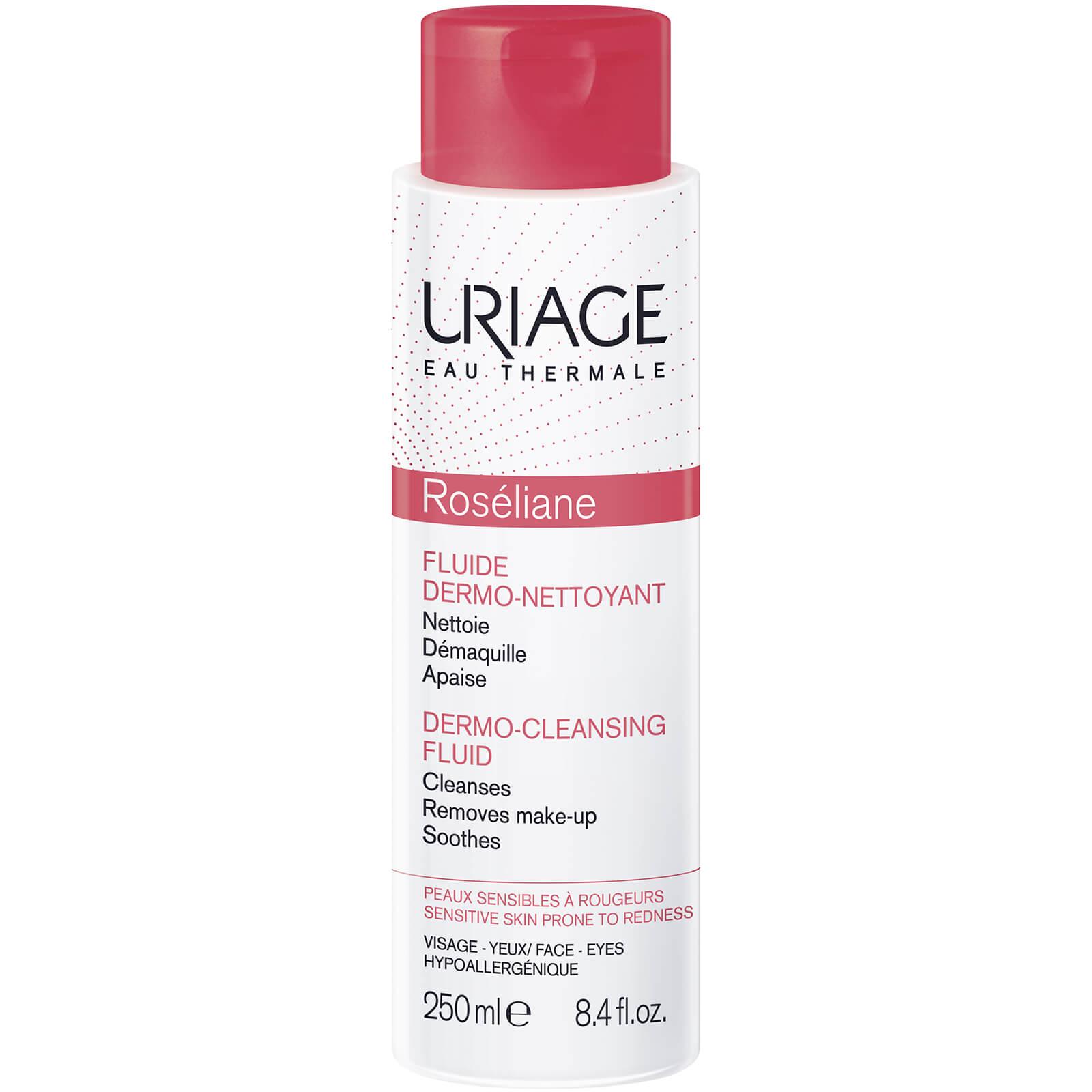 Купить Жидкость для очищения кожи и борьбы с покраснением Uriage Roséliane Anti-Redness Dermo-Cleansing Fluid (250мл)