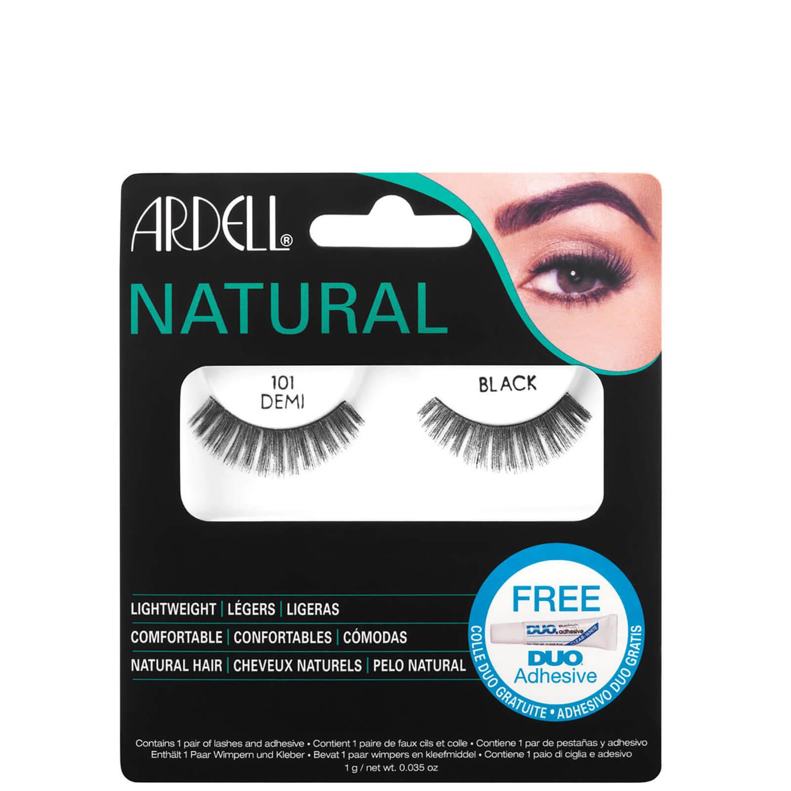 Купить Натуральные черные ресницы Ardell Natural Lashes 101 Demi Black