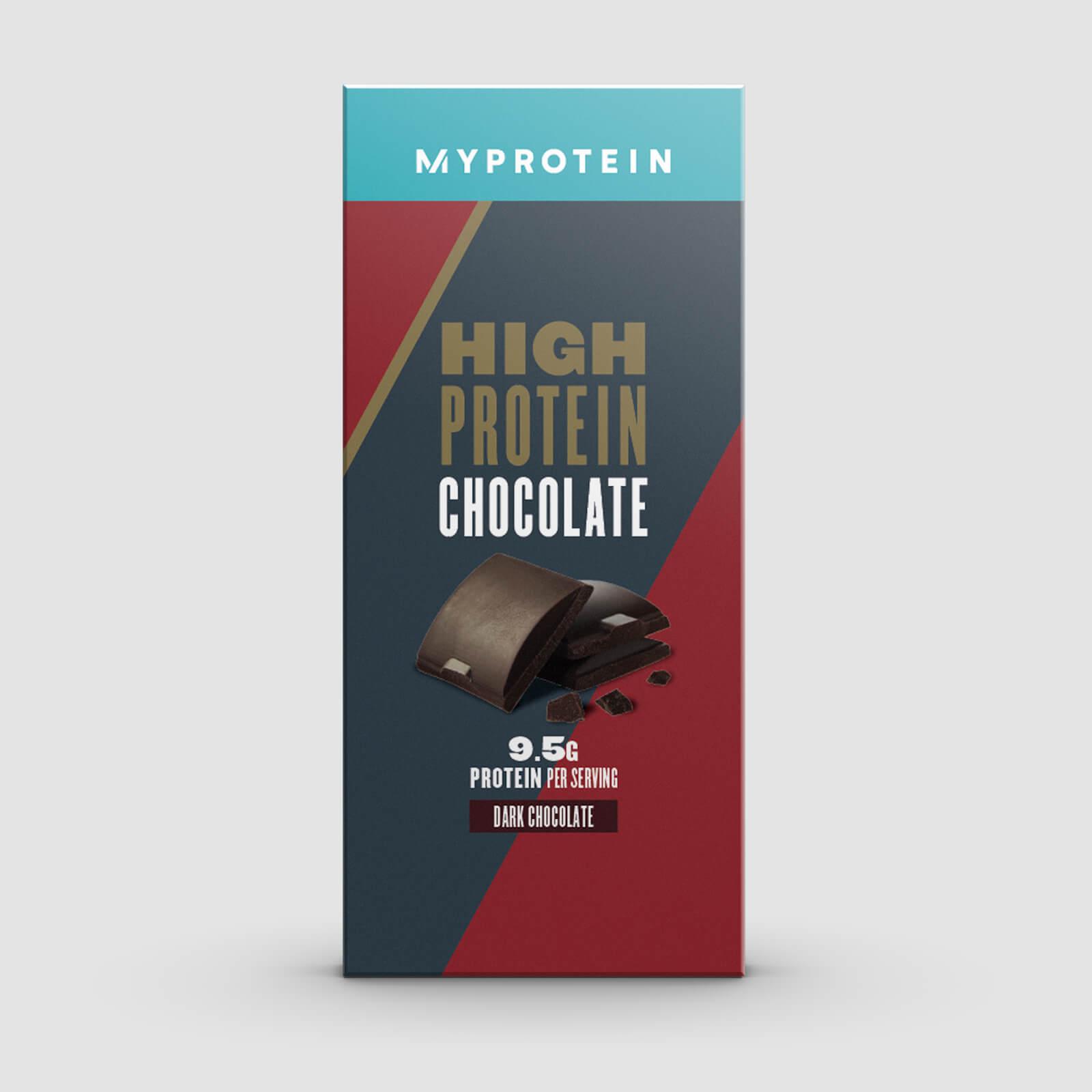Купить Протеиновый шоколад - 70g - Темный шоколад, Myprotein International