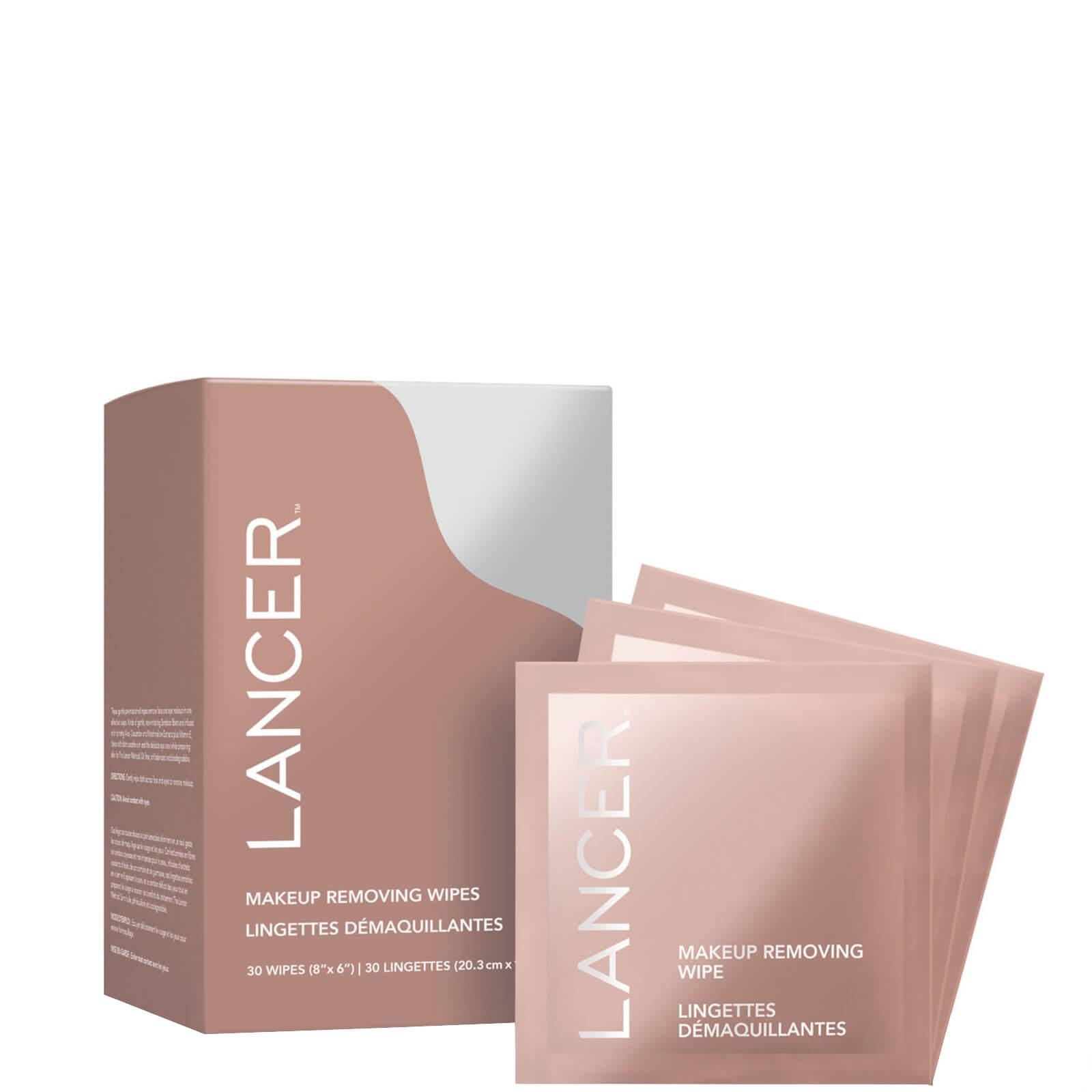 Купить Салфетки для снятия макияжа Lancer Skincare Makeup Removing Wipes